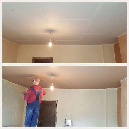 B & A ceiling